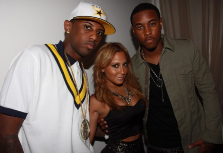 Photo of Jeremih & his friend  Fabolous